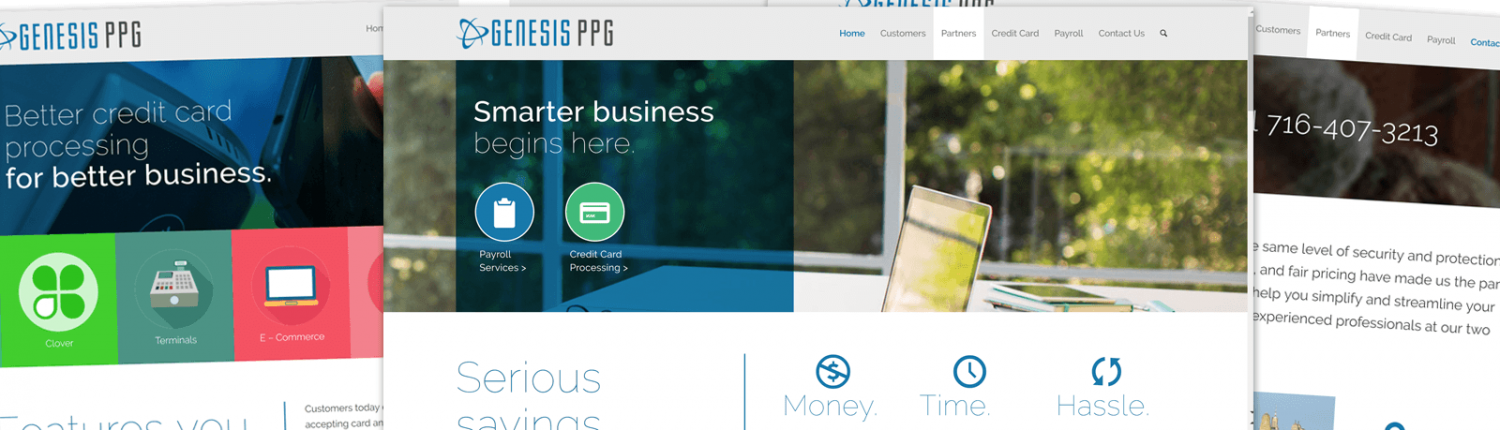 Genesis PPG - Website Development