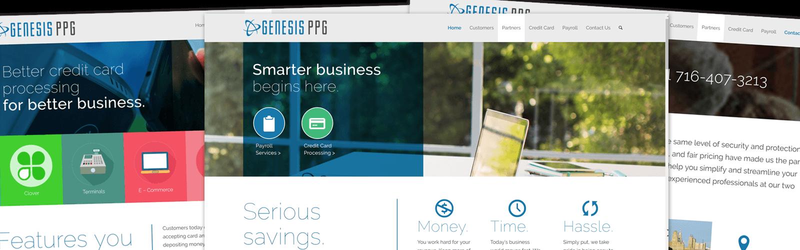 Genesis PPG - Website Development